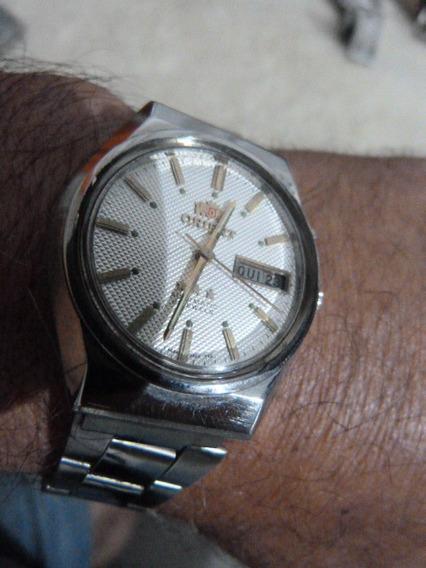 1 Relógio Orient Masc. Mod. 469m16-9xpy Cx 37 X 41 M