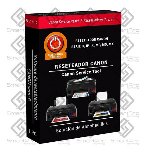 Reset Canon Error Almohadillas 5b00 5b02 Licencia Original