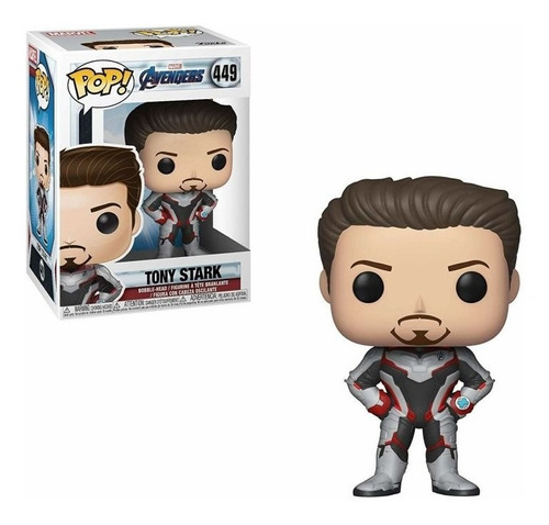 Funko Pop Tony Stark Avengers Endgame -449- Orig