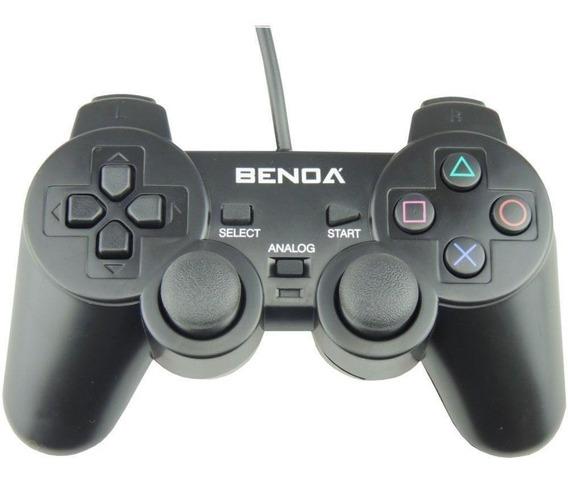 Controle Para Videogame Playstation 2 E Computador Com Fio