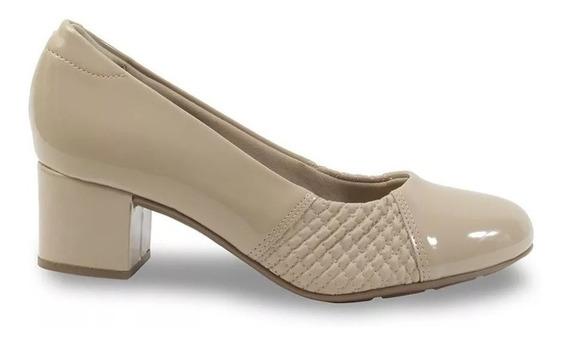 Sapato Joanete Modare Confort Feminino Nude Original C/ N F
