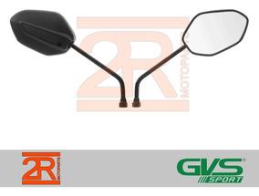 Retrovisor Gvs Moto Honda Nova Cg Titan 150 2014 Par