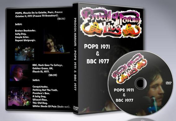 Dvd Procol Harum - Pop 2 1971 & Bbc 1977