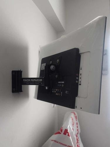 Rack Movil Monitor/ Tv 14-28 Instalacion Gratis