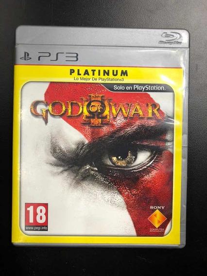 God Of War 3 Ps3 - Mídia Física Seminovo