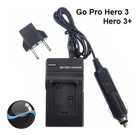 Carregador Parede E Veicular Go Pro Gopro Hero 3 Hero 3+