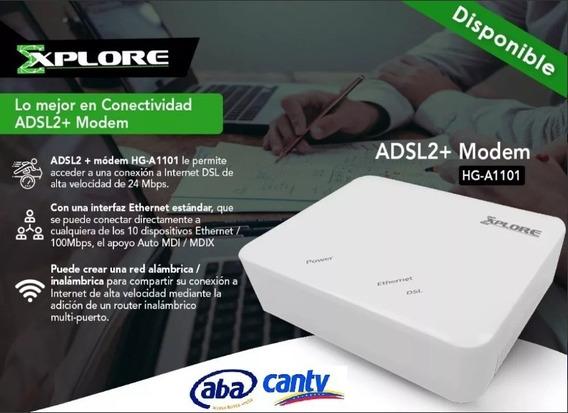 Modem Explore Adsl2 Hg-a1101 Internet Aba Cantv (25)