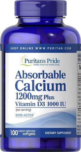 Absorbable Calcium 1200 Mg Vitamin - Unidad a $480