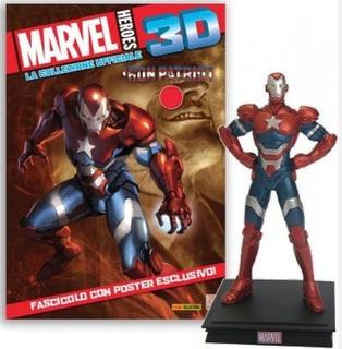 Colección Marvel 3d - Iron Patriot #19