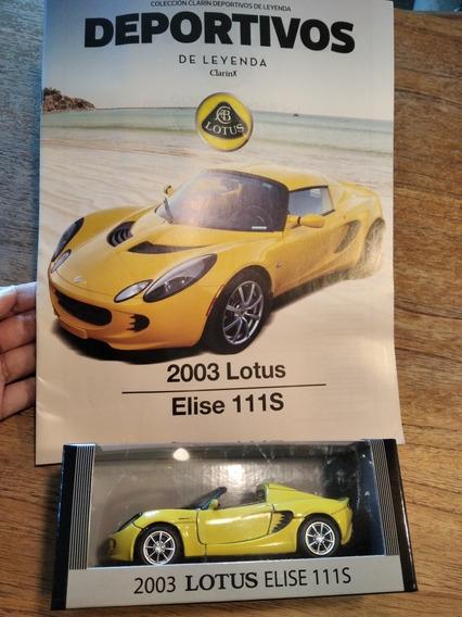 Auto Colección Deportivos De Leyenda (2003 Lotus Elise 111s)
