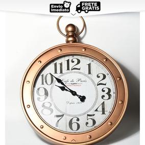 Relógio De Parede Antique Imperial Café De Paris Grande