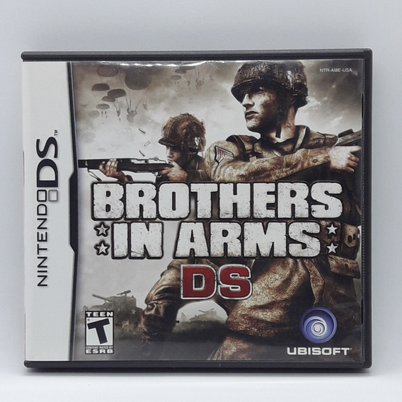 Brothers In Arms Ds Nintendo Nds Midia Fisica Jogo Game