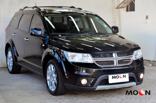 Dodge Journey 3.6 Rt Preta 2015 Pneus Novos Abaixo Da Fipe
