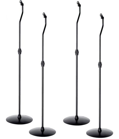 Suporte Caixa De Som Para Home Theater - Pedestal - Kit 4un
