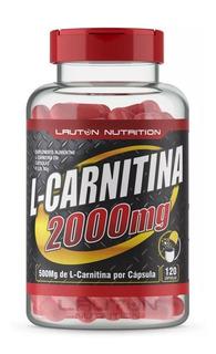 L Carnitina 2000mg Pote C/ 120 Capsulas Promoção + Brinde