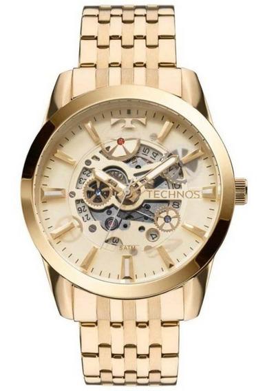 Relógio Technos Maculino Automático 8205nq/4x Nota Garantia