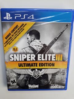 Sniper Elite 3 Ultimate Edition Juego Ps4 Nuevo Y Sellado