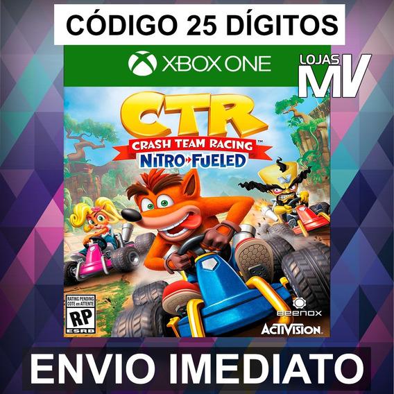 Crash Team Racing Nitro-fueled Xbox One Codigo 25 Digitos