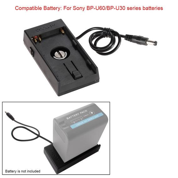 Camera Dv Battery Mount Power Plate For Blackmagic Bmcc 4k
