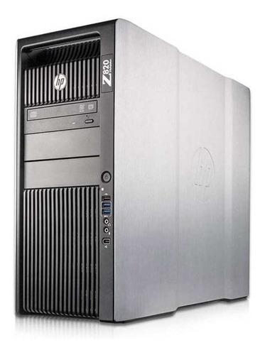 Workstation Hp Z820 Six Core 2.5 Ghz 16gb2x 500gb Seminovo!