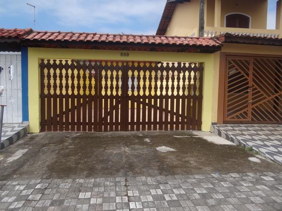 Casa Mongaguá, Baln. Itaguaí,3 Dorms R$160 Mil ! Ref: 6785 D
