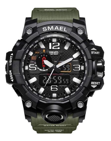 Relógio Smael Esportivo 1545 Verde Prova D