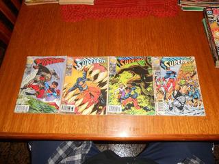 Hq Superboy N 15,16,17,18. Saga Holocausto Esmeralda.