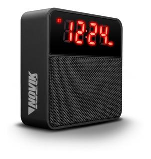 Radio Reloj Despertador Parlante Novik Chronos Fm