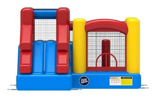 Juego Inflable Chileinflable Castillo 3 En 1
