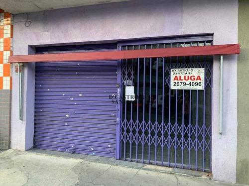Salão Para Alugar, 193 M² Por R$ 4.000/mês - Mooca - São Paulo/sp - Sl0099