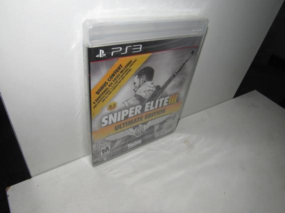 Sniper Elite Iii Ultimate Edition Ps3 Mídia Física Lacrado