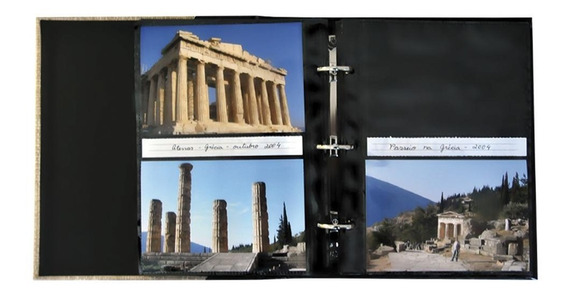 Álbum De Fotos 200 Fotos 13x18 Clássico Corino C/ Janela 510
