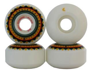 Roda Skate Street Cisco Fn+r Rasta 51mm 83b