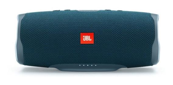 Caixa De Som Jbl Charge 4 Portátil Bluetooth- Blue