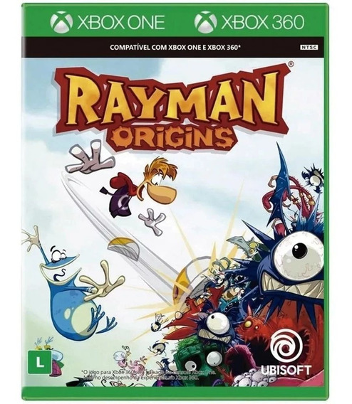 Rayman Origins Xbox 360 E Xbox One Original Lacrado