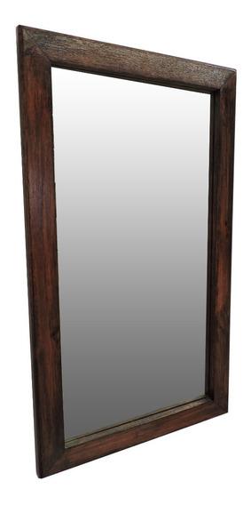 Espejo En Madera Noble ! 54x75cm !! Mercado Home