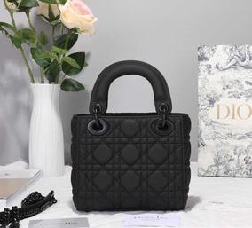 Bolsa Dior Lady All Black Pronta Entrega Importada Exclusiva