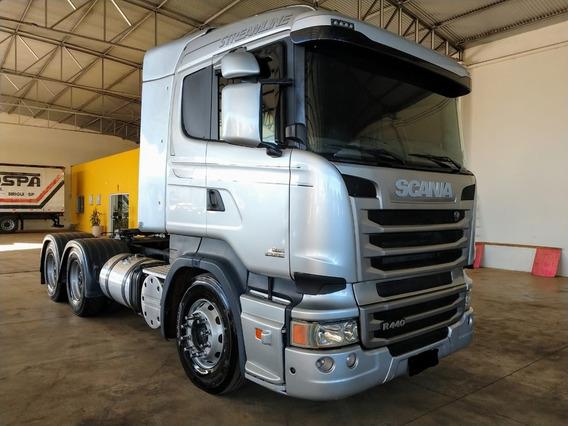 Scania 124 6x4 440