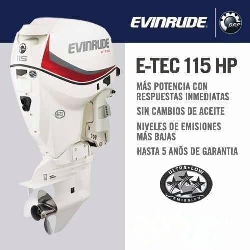 Evinrude E-tec E115hp Dsl ( Tenemos Todas Las Potencias )
