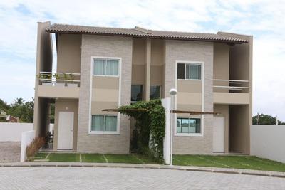 Casa Em Guaribas, Eusébio/ce De 103m² 3 Quartos À Venda Por R$ 330.000,00 - Ca195386