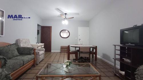 Imagem 1 de 9 de Apartamento Residencial Para Locação, Barra Funda, Guarujá - . - Ap9757