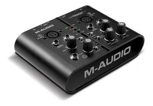 M-audio Mtrack Plus 2 Midi Usb Interfaz Placa Usb