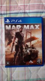 Jogo/game Mad Max Ps4 - Mad Max