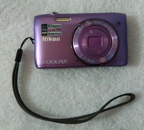 Câmera Fotográfica Nikon Coolpix S3500
