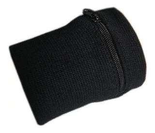 Munhequeira Com Ziper Porta Moeda Dinheiro Ideal P/ Corrida