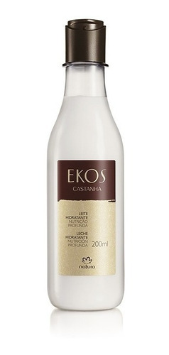 Leche Hidratante Castaña Producto Natura Ekos 200ml