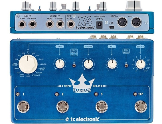 Pedal Falshback Triple Delay Tc Eletronics