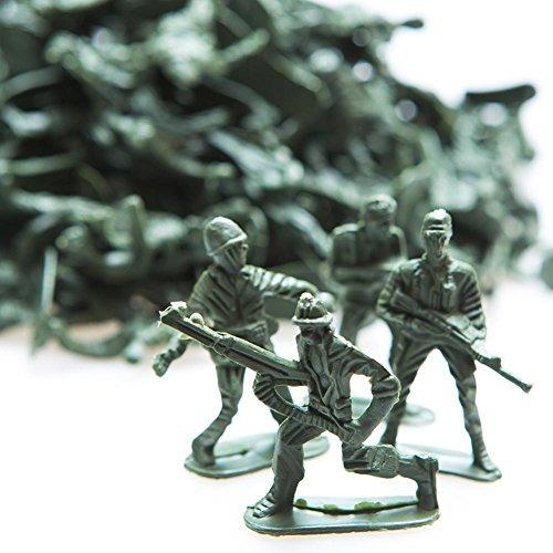 Rhode Island Novedad 144 Soldados De Juguete Clásicos Surtid