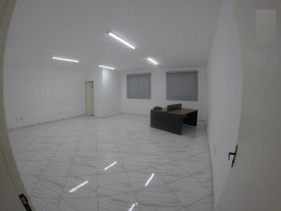 Sala Para Alugar Na Região Central, 50 M² Por R$ 1.700/mês - Boqueirão - Praia Grande/sp. - Sa0044