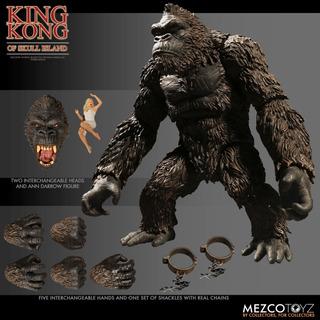 King Kong - King Kong Of Skull Island - Mezco